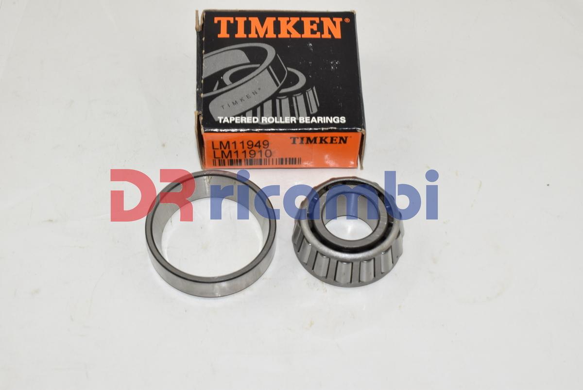 LM501310 41,275 x 73,431 x 19,558 mm Cuscinetto a rulli conici LM501349